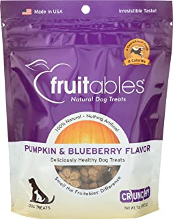 product image for Fruitables, Pet Treats Pumpkin and Blueberry, 7 Ounce