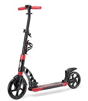 Star-Scooter Pro Sport Patinete 230mm Premium Big Wheel Plegable con suspensión Completa, para Adultos y niños Desde Aprox. 8 años ★ High End Edition ...