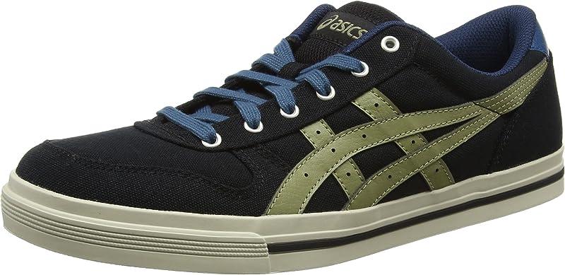 ASICS Aaron Sneakers Herren Schwarz/Olive Größe 36-49
