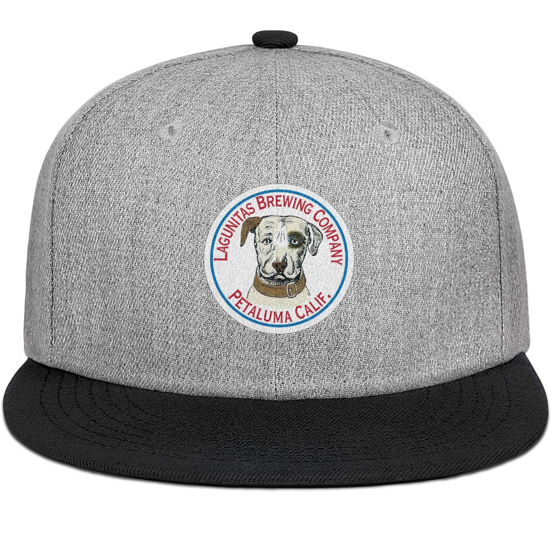 LZJDY Lagunitas Brewing to Open New Chicago Brewery Mens Womens Wool Trucker Cap Adjustable Snapback Hip Hop Hat