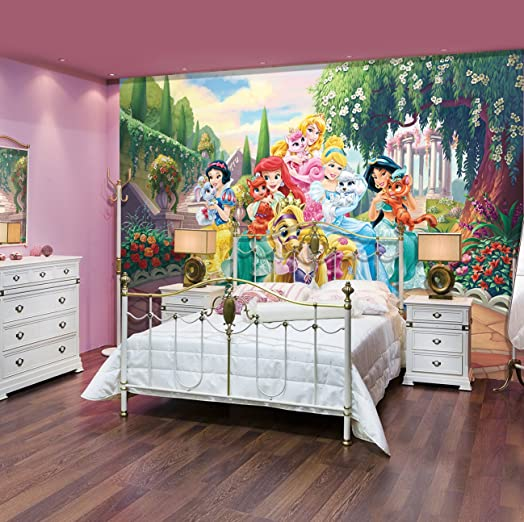 Amazing Wall Mural Wallpaper Palace Pets In Giant Size   368x254cm Disney Wallpaper  Mural Part 27