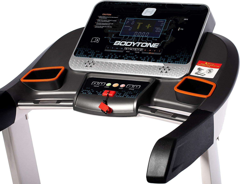 BT BODYTONE Cinta de Correr DT-20 con Pantalla LED, Velocidad de ...