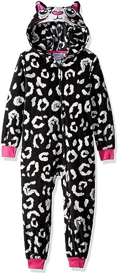 Amazon.com  Komar Kids Girls  Big Cat Hooded Blanket Sleeper e57ca45a4