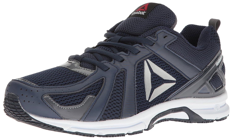 Reebok Men's Runner Running Shoe B019SIZLJ4 6.5 D(M) US Collegiate Navy/Ash Grey/White/Silver
