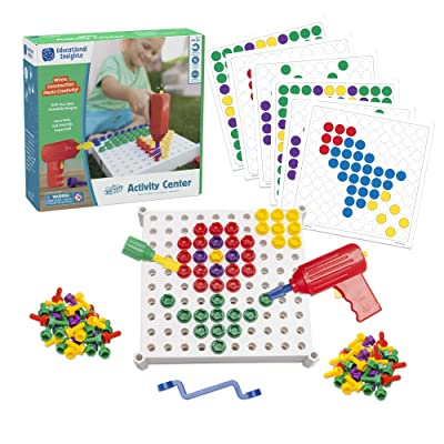 Educational Insights Design & Drill Activity Center: Toys & Games