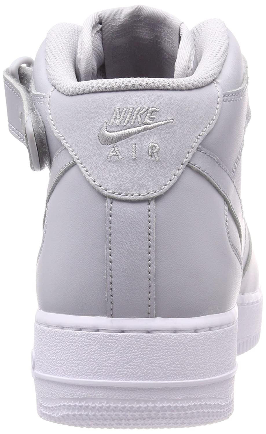 Nike Air Force 1 Mid 07, Zapatillas Altas para Hombre, Gris (Wolf Grey-White 046), 45.5 EU: Amazon.es: Zapatos y complementos