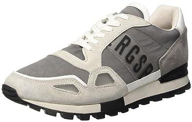 Bikkembergs Fend-er 867, Sneakers basses homme - gris - gris, 45 EU
