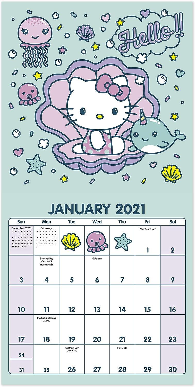 2021 Hello Kitty Mini Wall Calendar 7 X 7 Monthly Ddmn372821 Amazon Ca Office Products Sanrio figuren maskottchen kalender verpackung anhaenger 8 typ set geschenk baby. 2021 hello kitty mini wall calendar 7