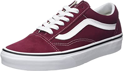Vans Old Skool Suede/Canvas, Baskets Femme