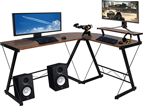 Halter L-Shaped Gaming Desk