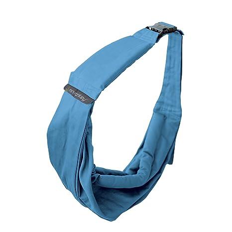 Mini Monkey color azul Fular portabeb/é