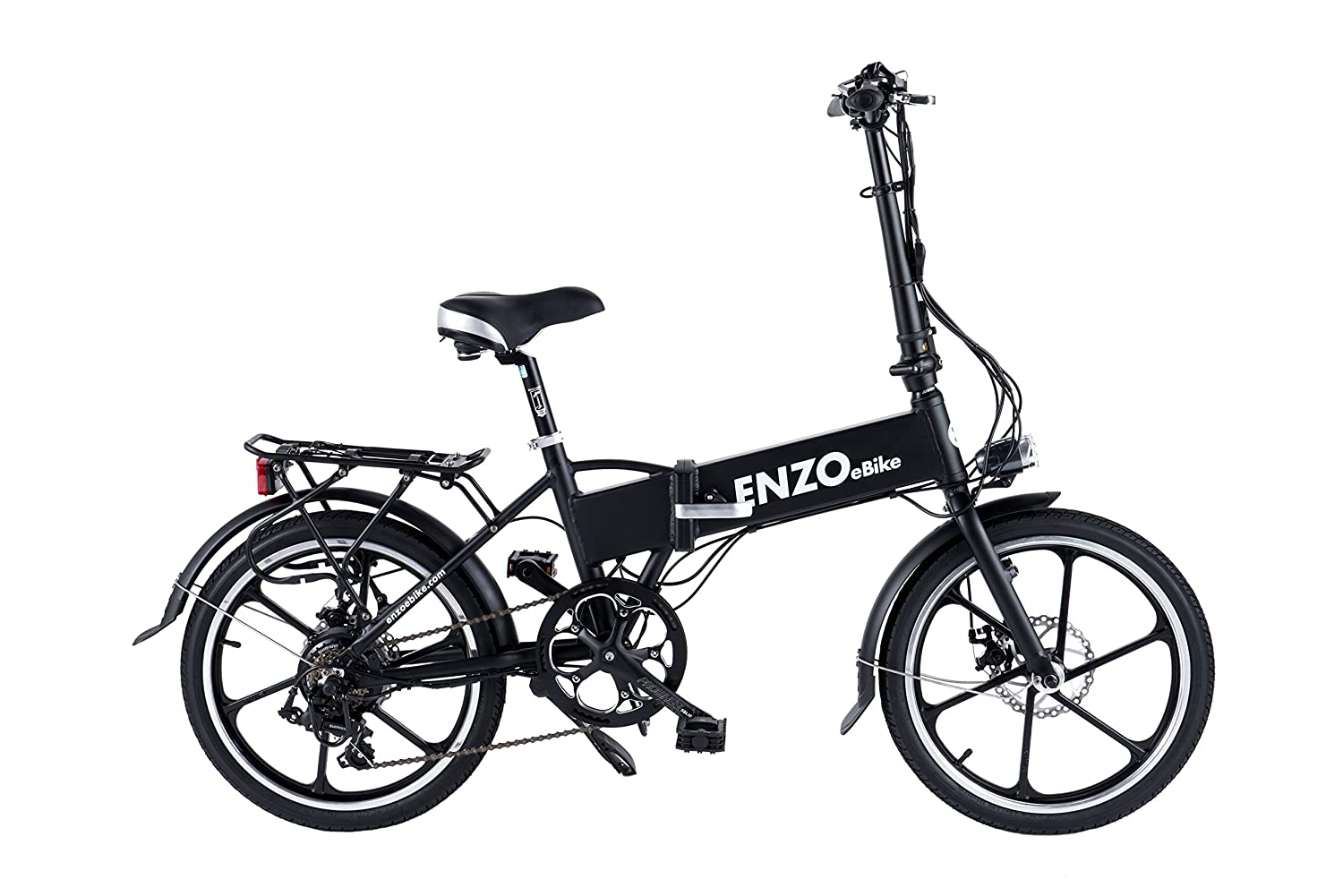 Enzo eBikes Electric folding Aluminum Bicycle Review