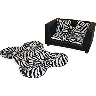 Fantasy Furniture Deluxe Orthopedic Memory Foam Dog Bed Set