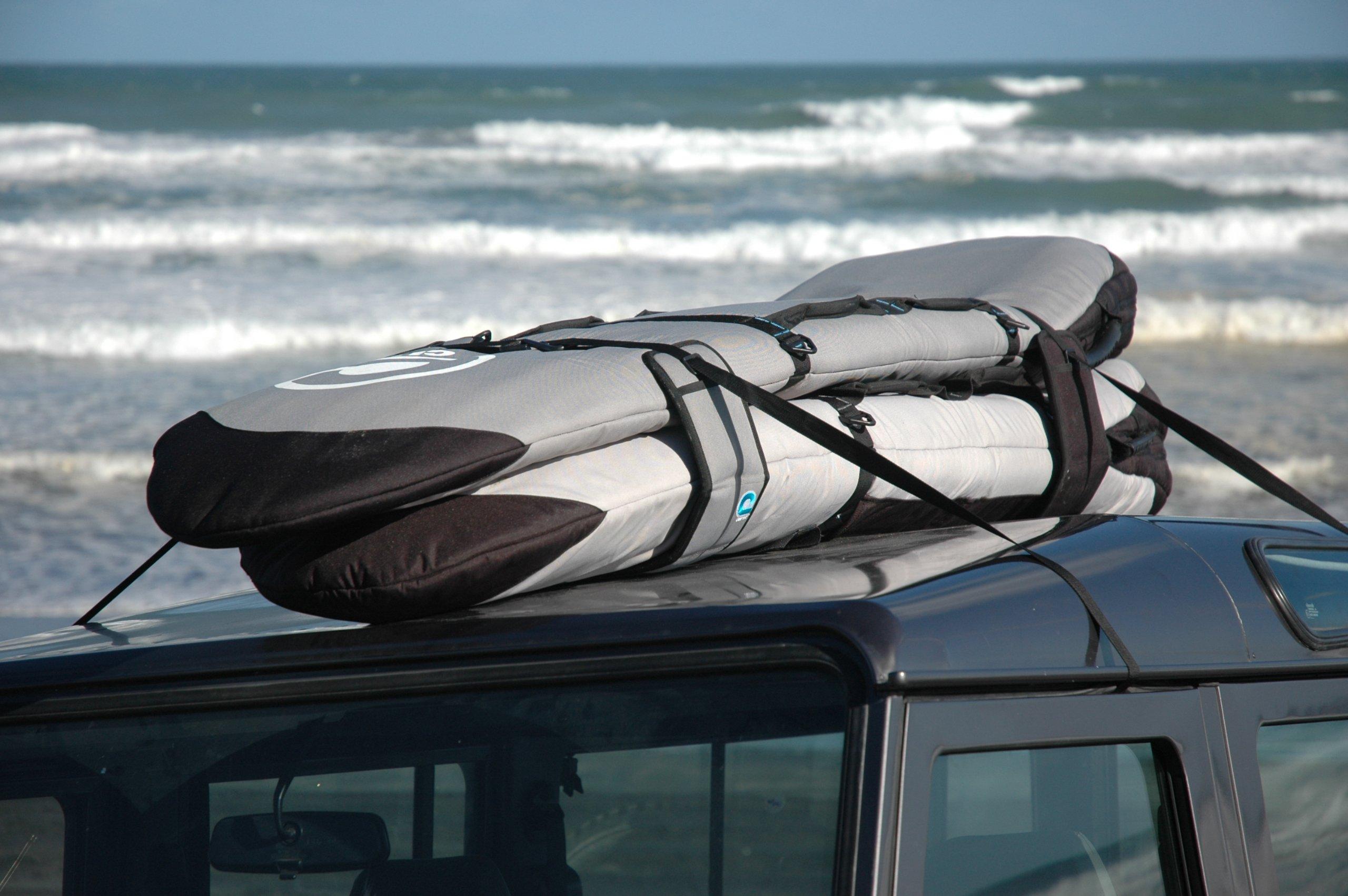 Surfboard Soft Rack LOCKDOWN Premium Surfboard Car Racks by Curve (set of 2) by Curve (Image #7)