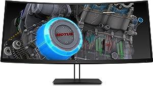 "HP Z4W65A8#ABA Z38c LED-Backlit LCD Monitor Curved 37.5"" Black (Renewed)"