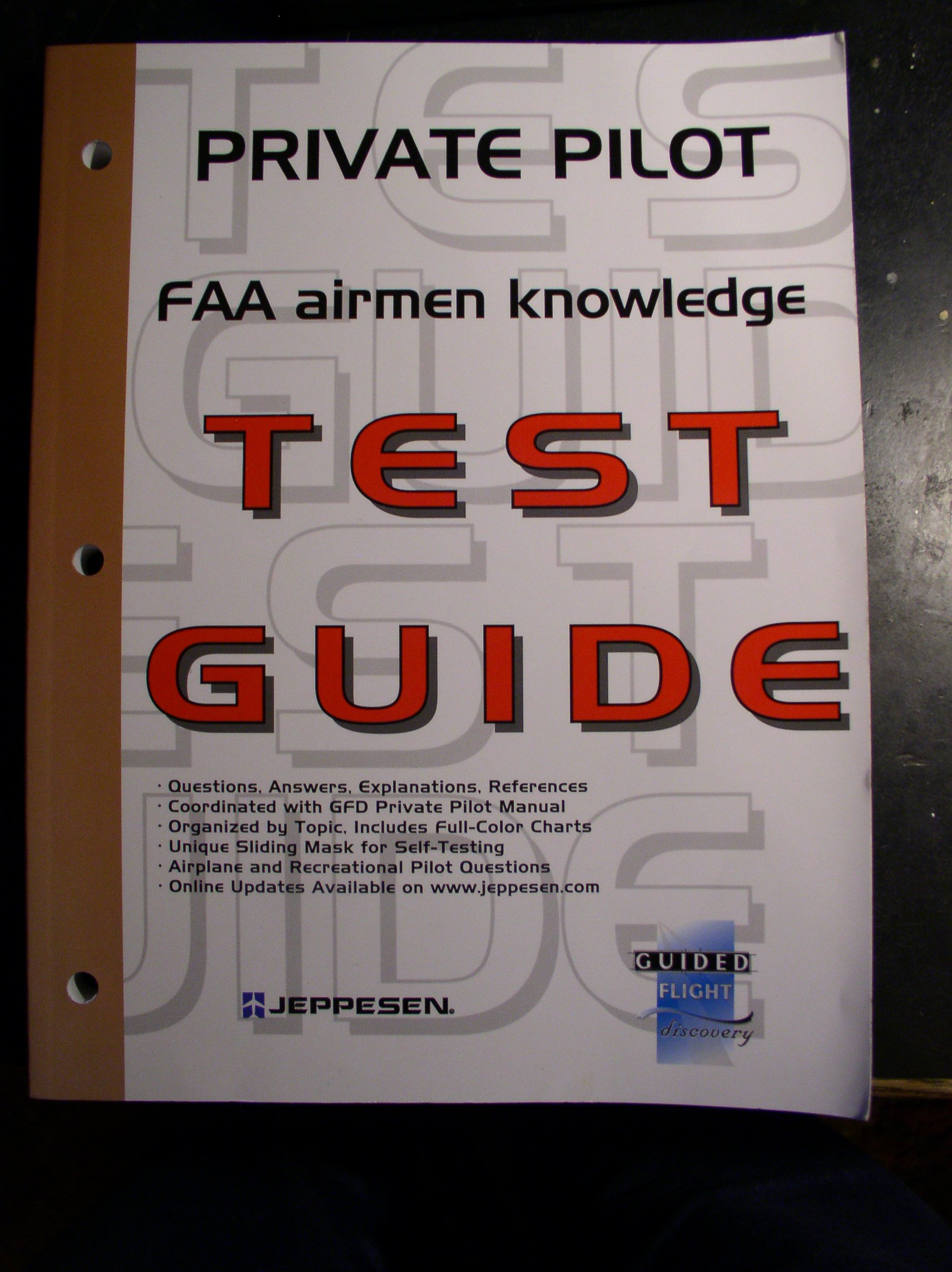 Private pilot faa airmen knowledge test guide jeppesen sanderson private pilot faa airmen knowledge test guide jeppesen sanderson 9780884873785 amazon books fandeluxe Images
