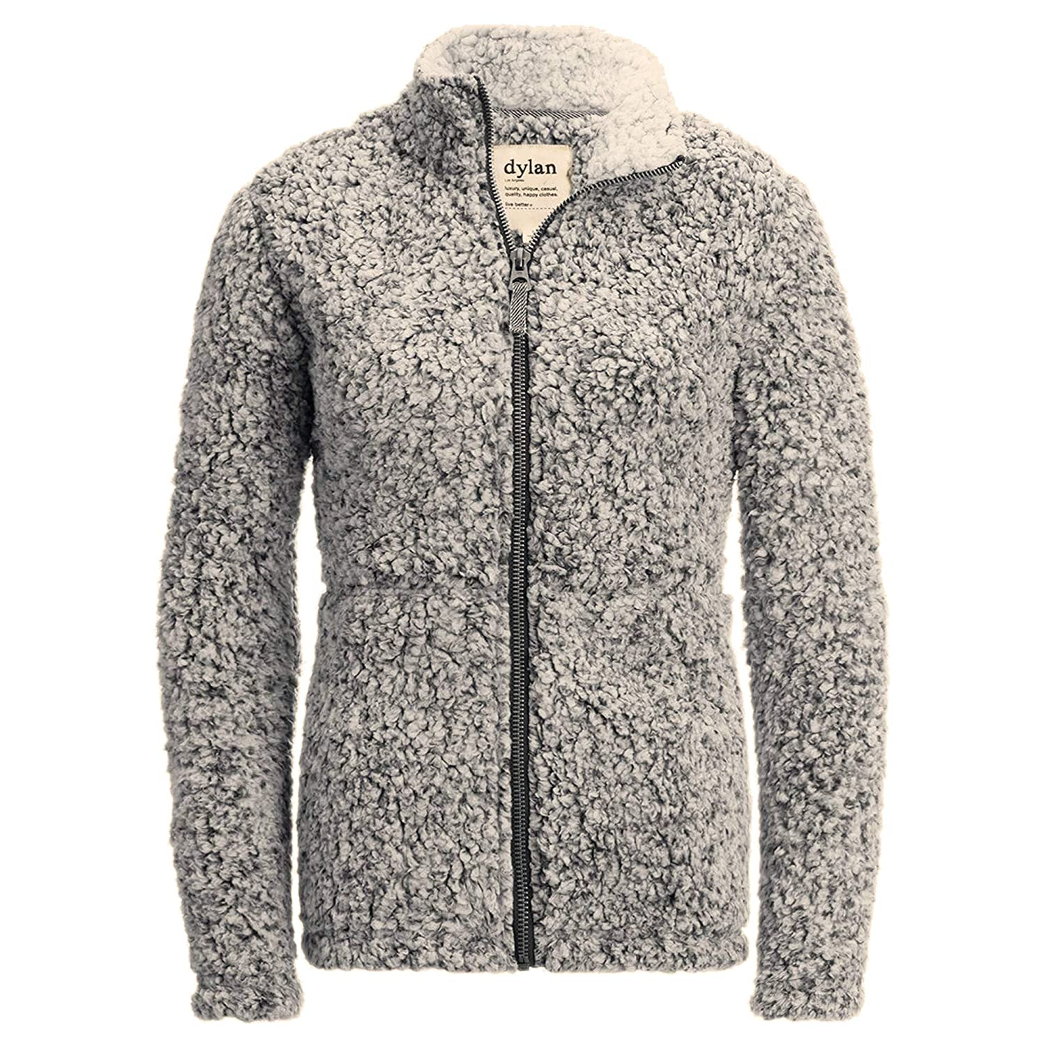 18a11e436 Dylan Women's Frosty Tip Stadium Pullover Sherpa Jacket