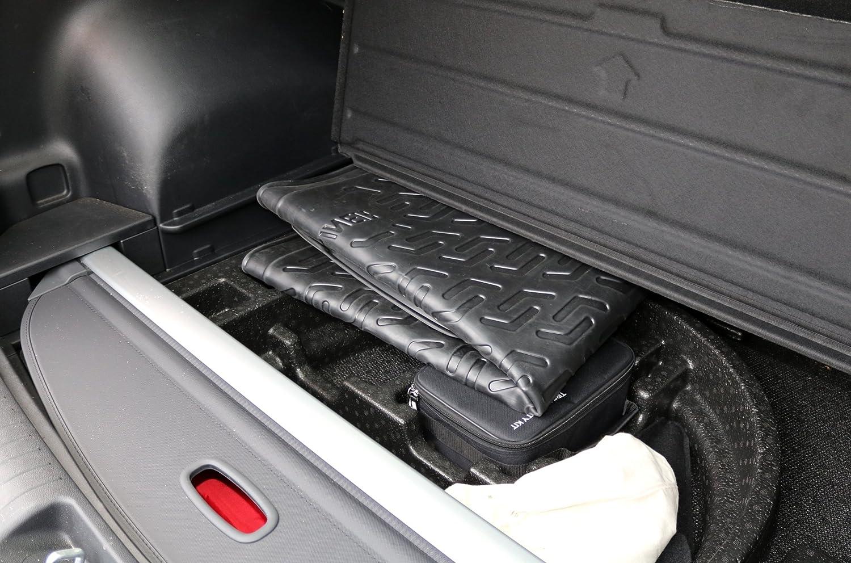 schwarz Rutschfest AD Tuning TM11008 Passform Gummi Kofferraumwanne