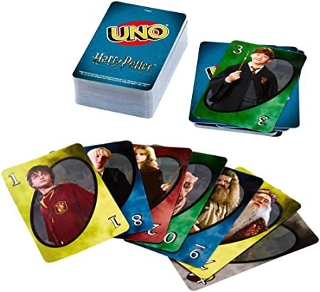Mattel Games Uno Harry Potter Card Game