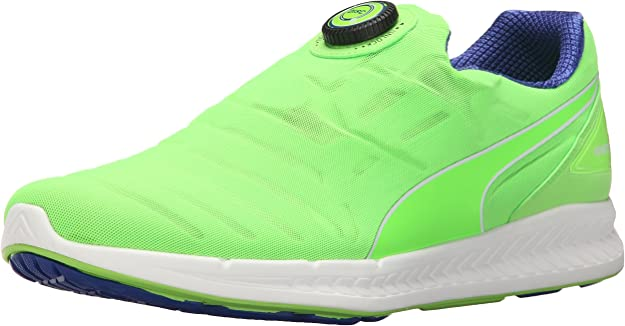 Puma Disc Ignite las zapatillas de running, Green Gecko-Surf The ...