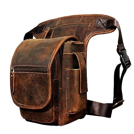 Leaokuu Moda hombre Bolsa de caza bolsa de pesca Cinturón bolso Cinturón Fanny Paquete de ...