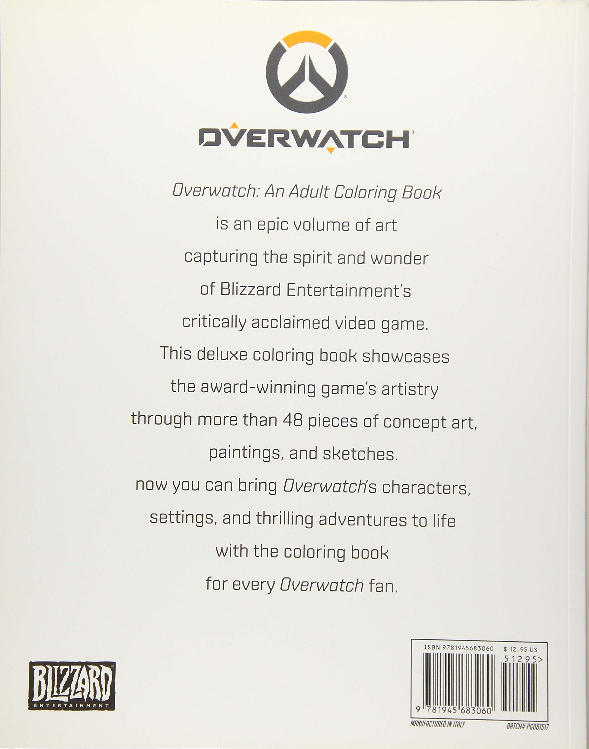 9800 Overwatch Coloring Book Pdf Download Free
