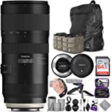 Tamron SP 70-200mm f/2.8 Di VC USD G2 Lens for Canon EF Cameras + Tamron Tap-in Console with Altura Photo Advanced…