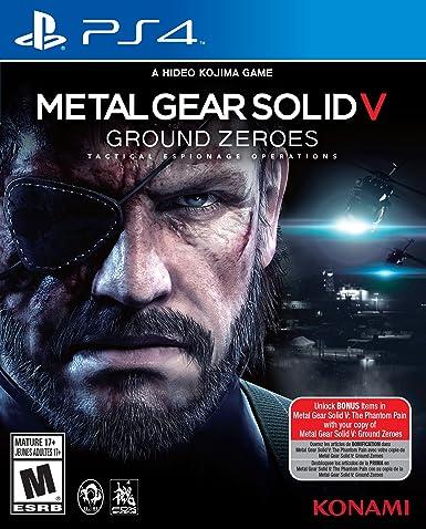 Konami Metal Gear Solid V - Juego (PlayStation 4, Acción, M ...