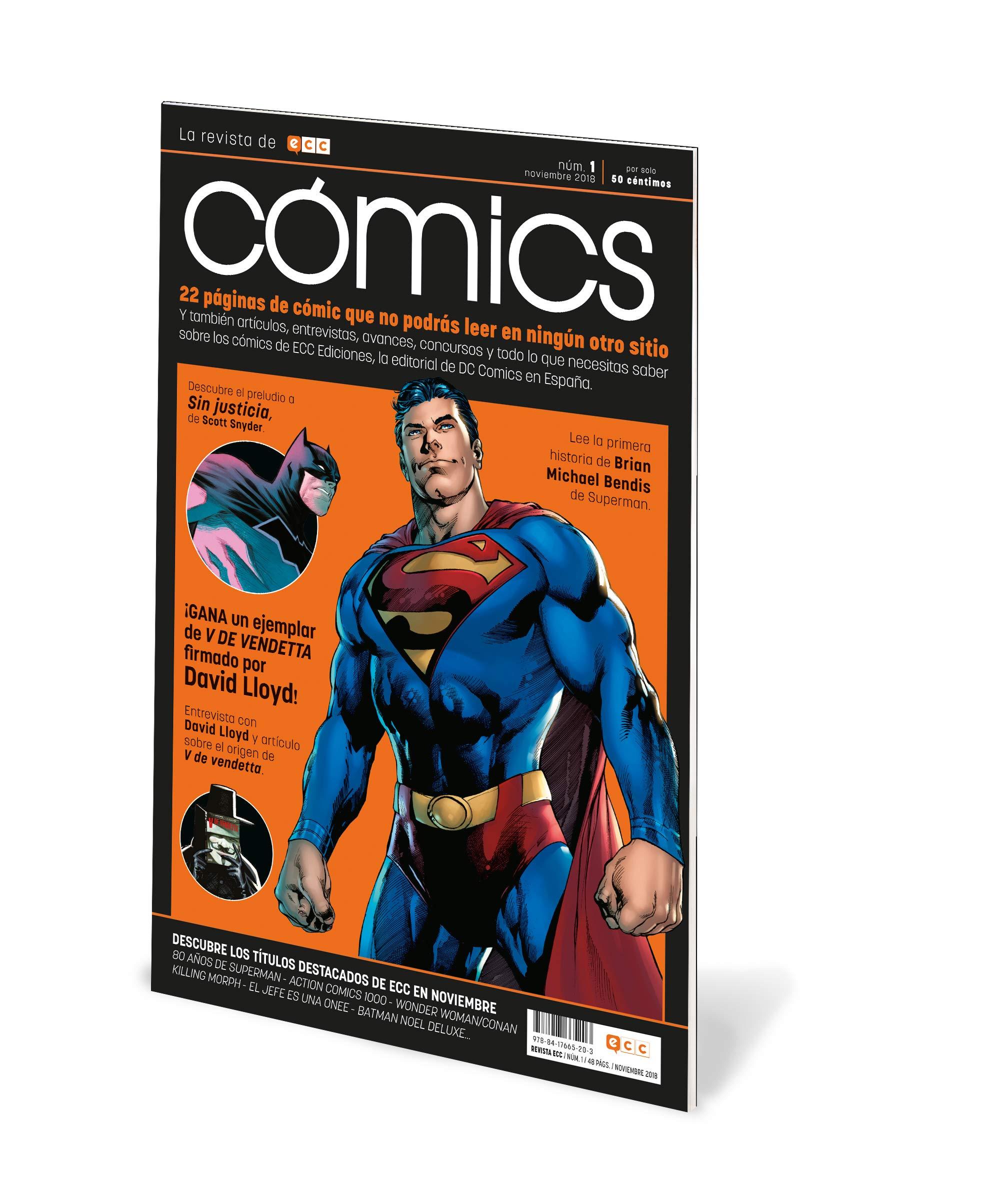 ECC Cómics núm. 01 (Revista): Amazon.es: Varios autores: Libros