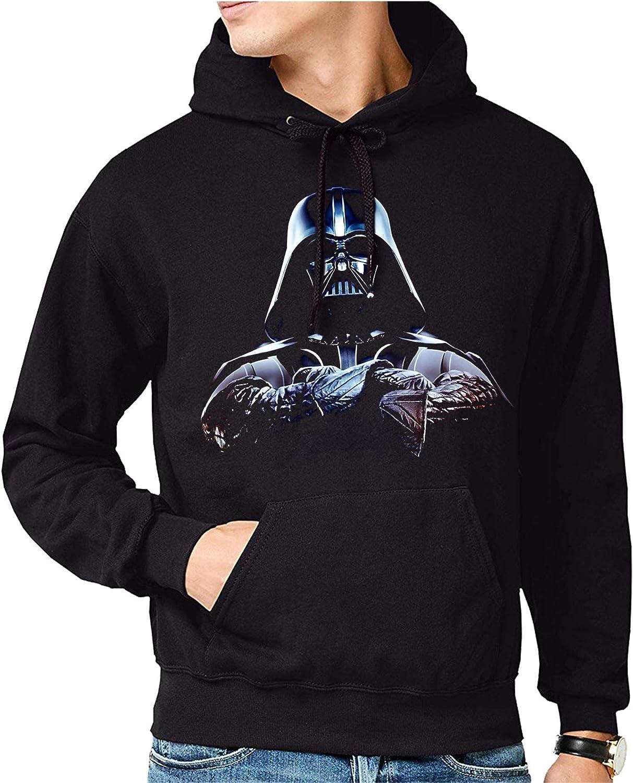 Sudadera de Hombre Star Wars Dark Vader Yoda Death Star 033