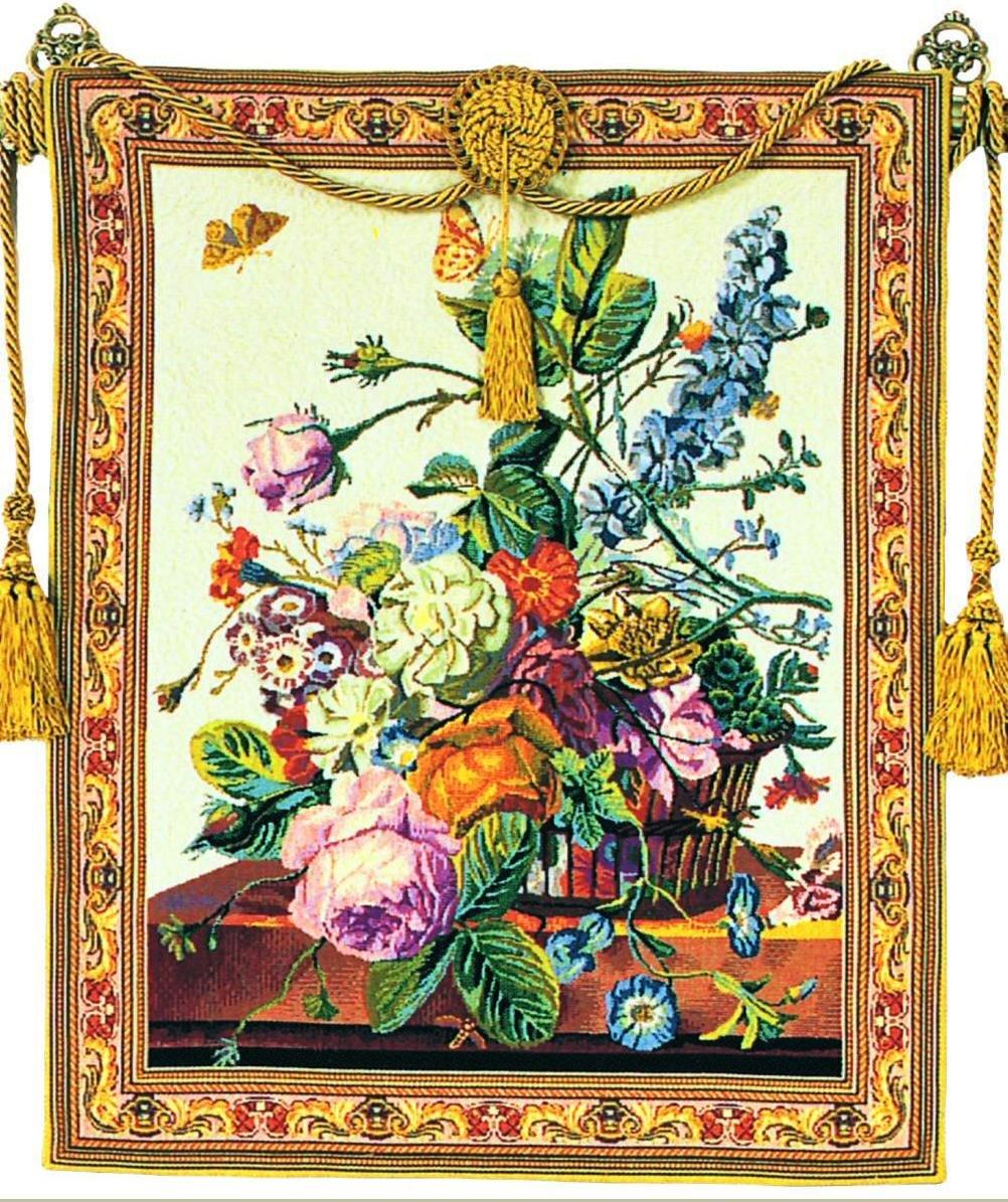 Corona Decor Tuscany European Floral Tapestry Wall Hanging