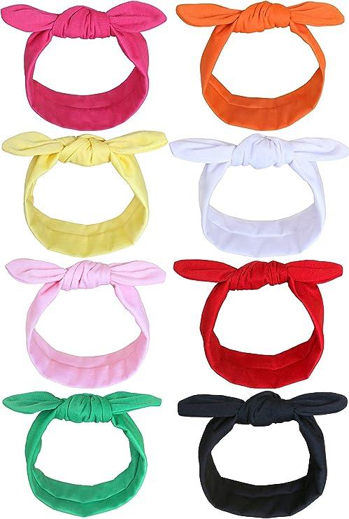 knot hair accessories Beechild headband double cotton gauze babychild headband sun yellow knot babychild bar