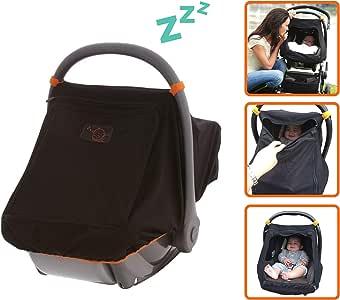 Baby Capsule Sunshade | Blocks up to 99% UV | Gives 360-degree Sun Protection and Helps Baby Sleep - SnoozeShade