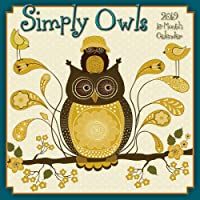 2019 Simply Owls 16-Month Wall Calendar: by Sellers Publishing, 12x12 (CA-0404)