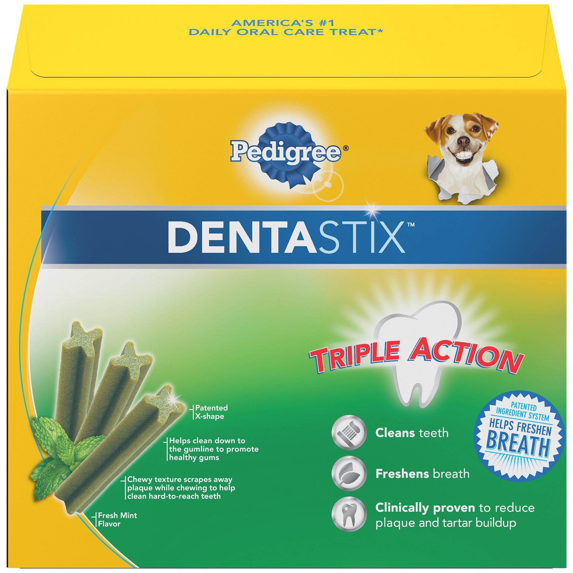 PEDIGREE DENTASTIX Large Dental Dog Treats Fresh, 1.52 lb. Pack (28 Treats) by Pedigree (Image #2)