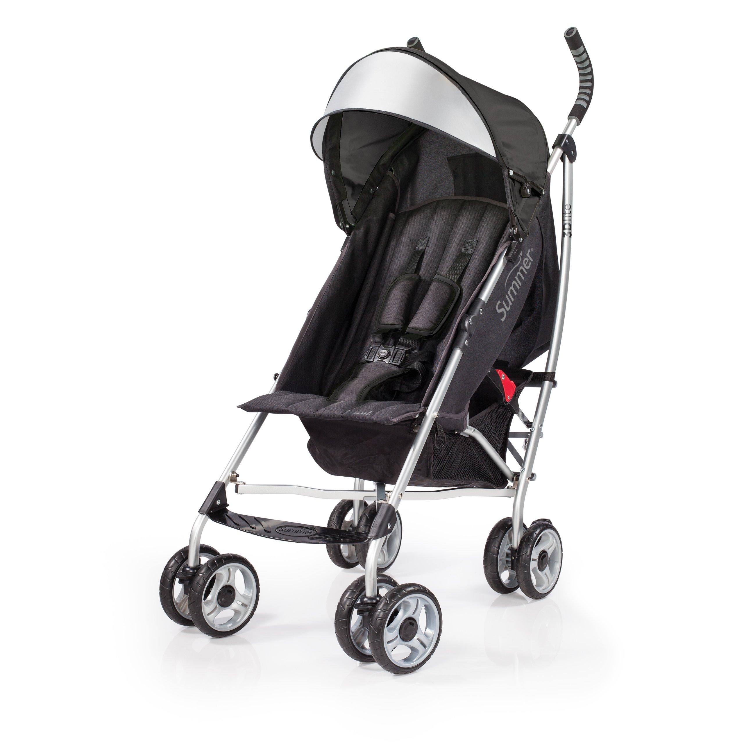 Summer Infant 2014 3D Lite Convenience Stroller, Black (Older Version)