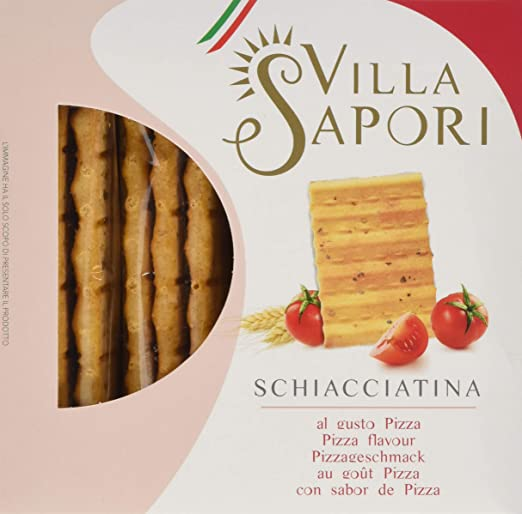 Villa Sapori Pan Crujiente Italiano | Schiacciatina sabor Pizza ...