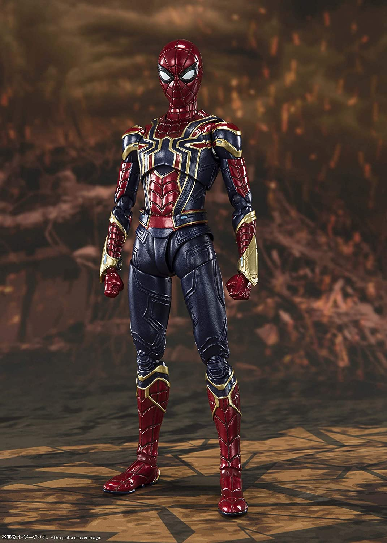 "Iron Spider Avengers Infinity War Spider-Man 6/"" Figure SH Figuarts Bandai 20"