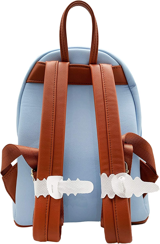 LOUNGEFLY X DISNEY Dumbo Stripe Star of The Show Mini Backpack