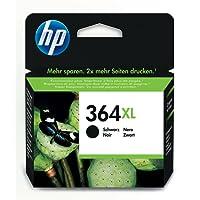 HP 364XL Cartouche d'encre Noire Grande Capacité Authentique pour HP DeskJet 3070A et HP Photosmart 5525/6525 (CN684EE)
