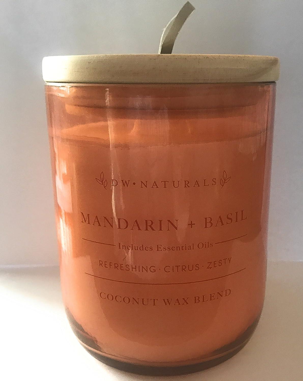 憧れ DW Oz Naturals Basil 17.6 Mandarin and Basil CoconutワックスブレンドCandle 17.6 Oz B07917G2B8, Fun Place:53fa9bde --- egreensolutions.ca
