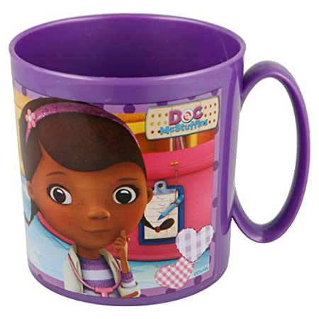 Stor Taza MICROONDAS 350 ML | Doc MC STUFFINS: Amazon.es: Hogar