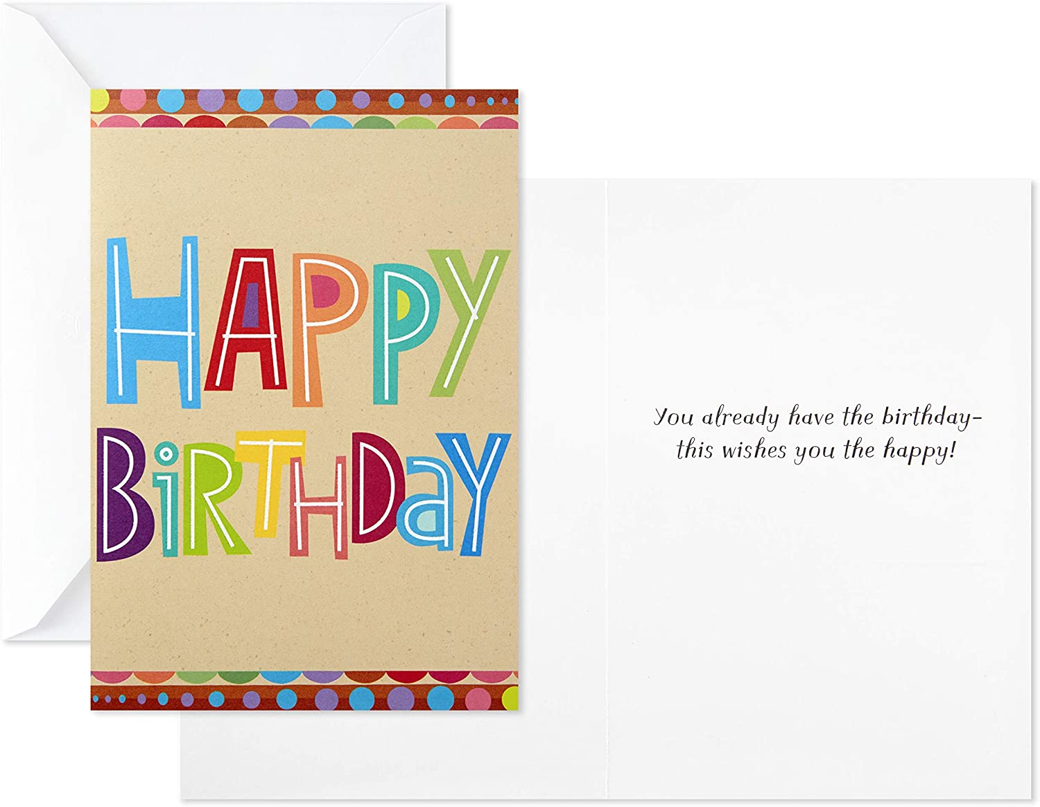 Birthday By The Month Greeting Card Set-12