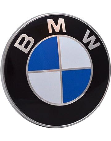 BMW 435435435. Emblemas para capó y maletero, 2 dientes. Emblema de 82 mm