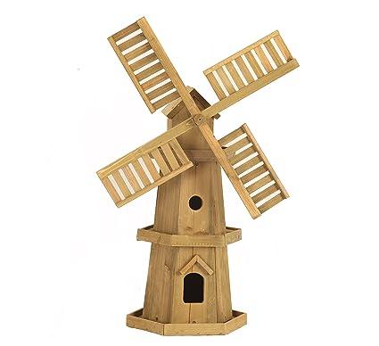 Smart Garden Giant Wooden Windmill