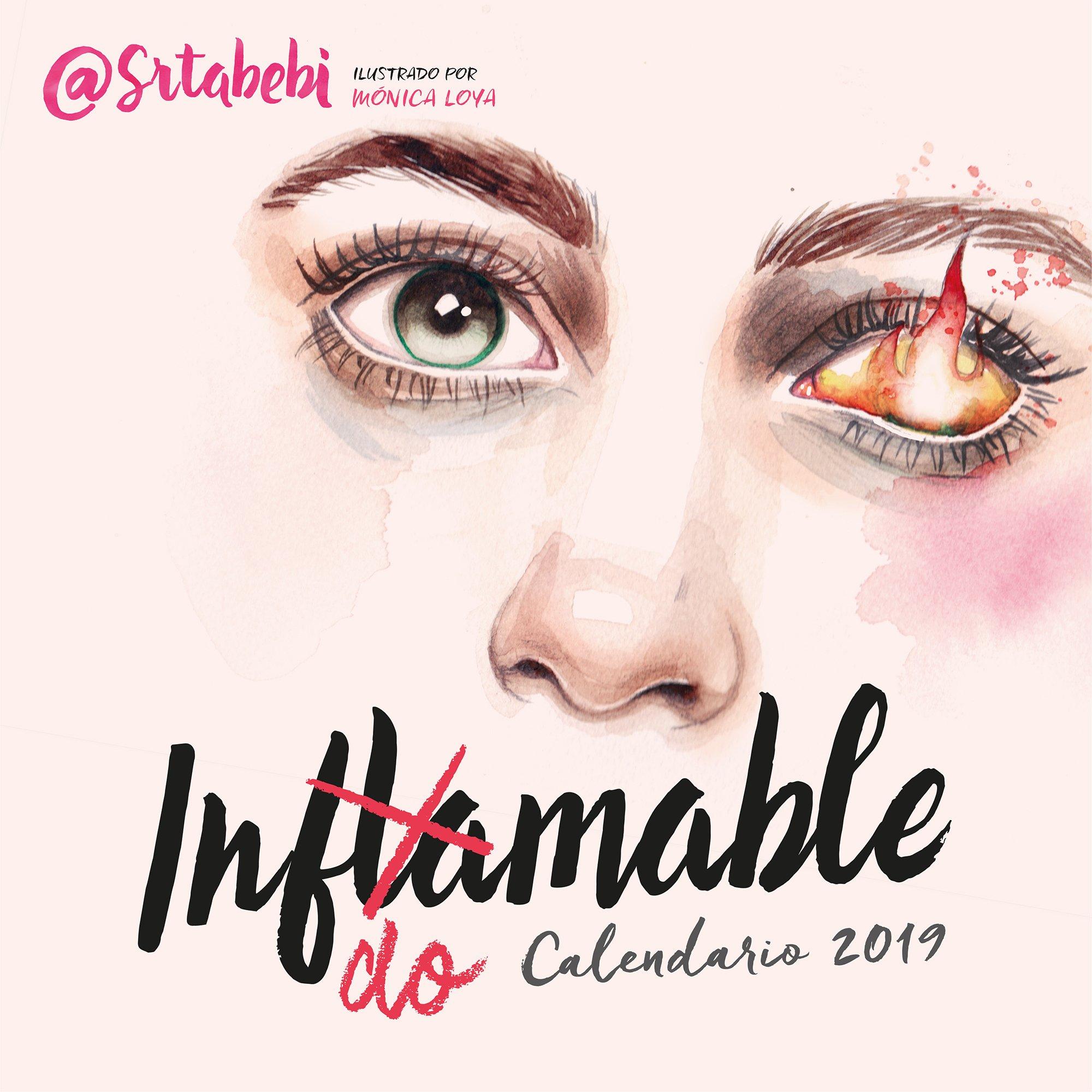 Calendario Indomable 2019 (Spanish) Calendar – 1900