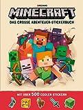 Minecraft, Das große Abenteuer-Stickerbuch