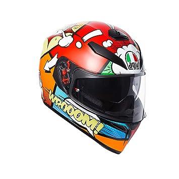 AGV Helmets - Casco para moto K-3 SV E2205 Multi Plk Balloon, talla