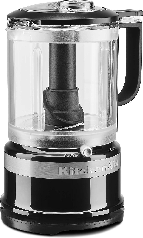 KitchenAid KFC0516OB 5 Cup whisking Accessory Food Chopper, Onyx Black (Renewed)