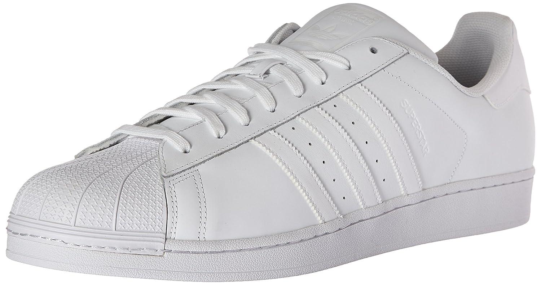 adidas Originals Mens Superstar Foundation Casual Sneaker White/Running 8.5 DM